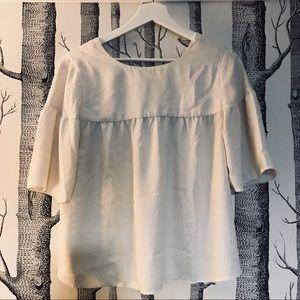 Ann Taylor now back blouse - size XS